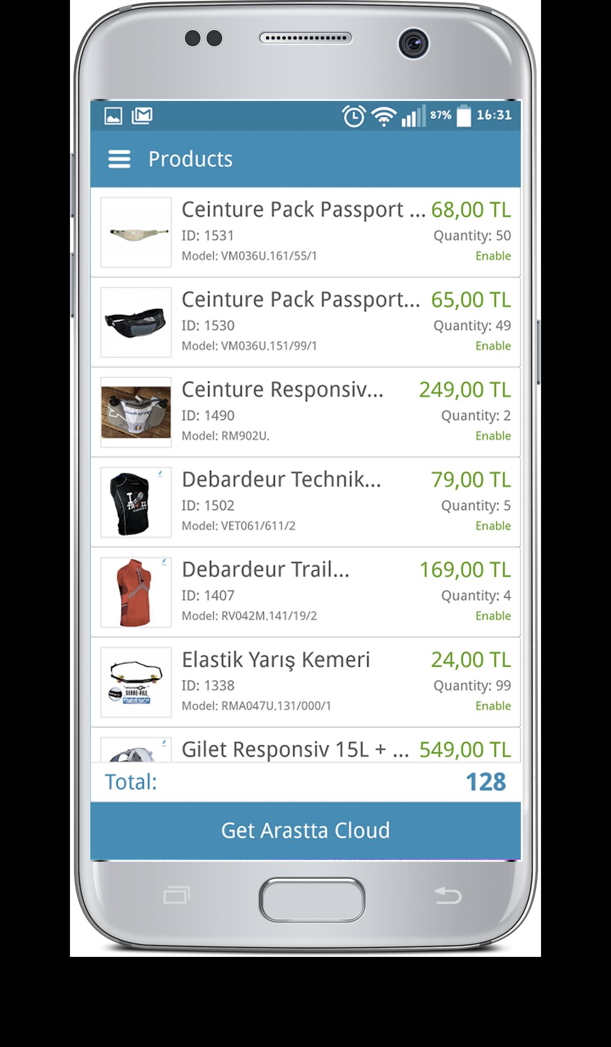 Arastta Android App